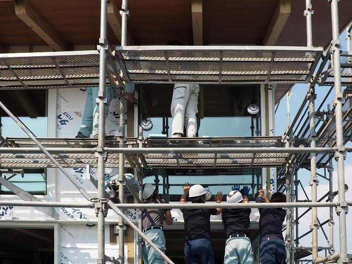 富士宮市新築住宅 トリプルガラス取付