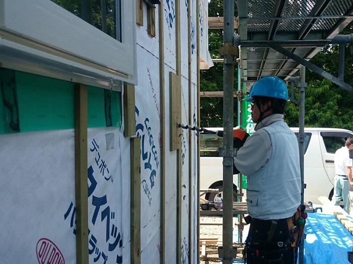 富士宮市新築住宅 薪ストーブの家 電気工事