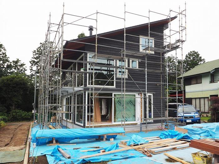 富士宮市 新築住宅 薪ストーブの家