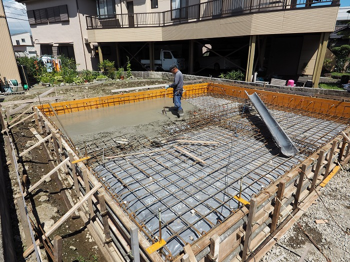 富士市 新築住宅 基礎