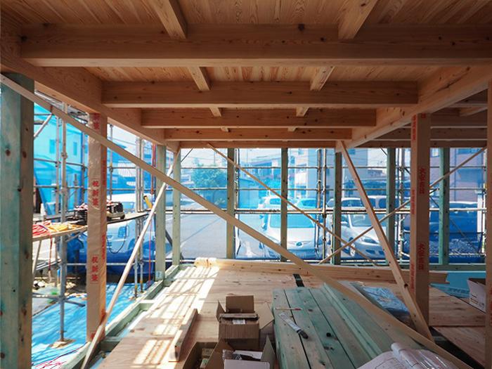 富士市 新築住宅 天竜材の家