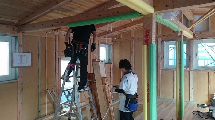 富士市 新築住宅 電気工事