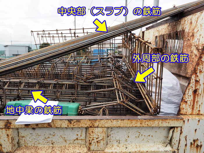 富士宮市 新築工事 耐震等級3の鉄筋