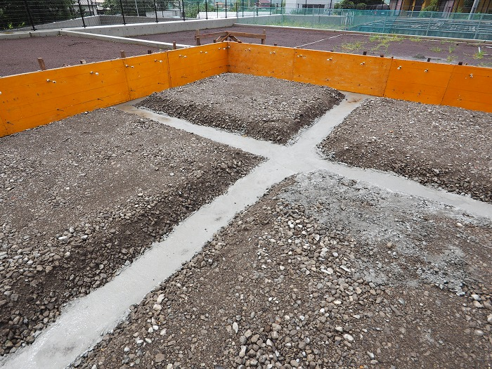 富士宮市 新築工事 耐震等級3の地中梁