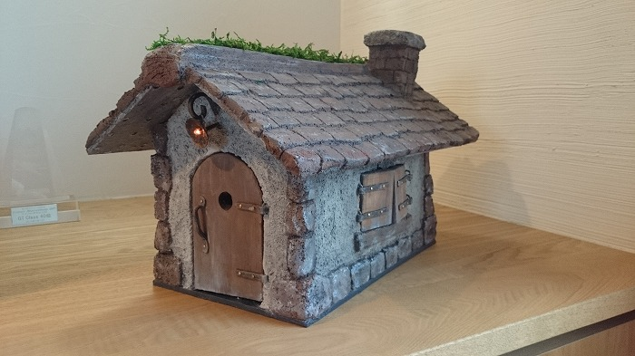 モルタル造形 ドールハウス