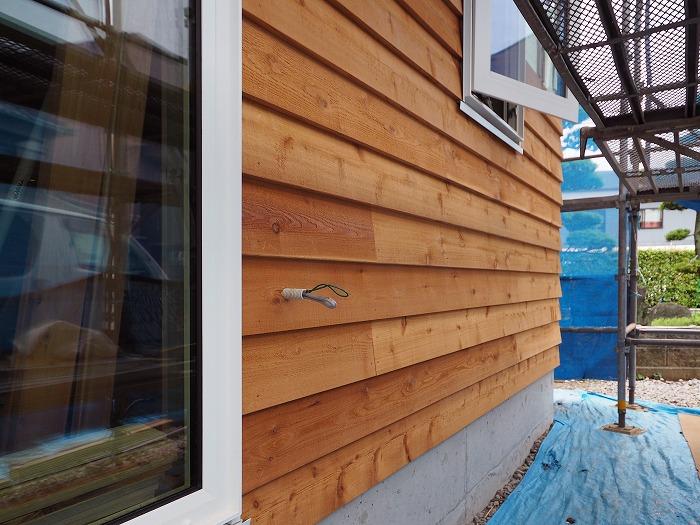 富士市 新築住宅 木の外壁