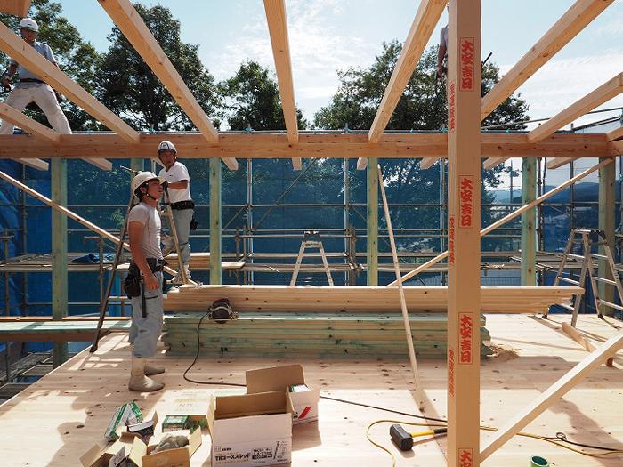 富士宮市 新築住宅 天竜材の構造