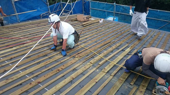 富士宮市 新築住宅 屋根通気