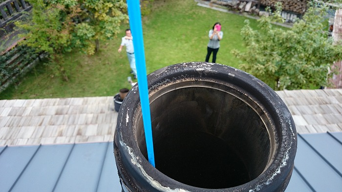 富士市 煙突掃除
