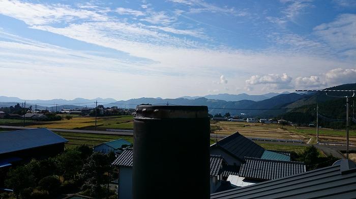富士宮市のリノベーションのお宅の煙突掃除