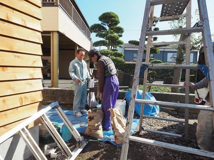 富士市 新築住宅 現場風景