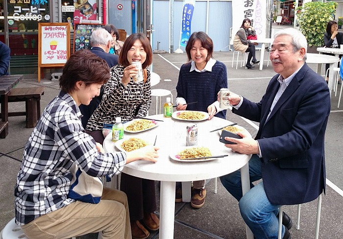 奥野さんと秋山先生