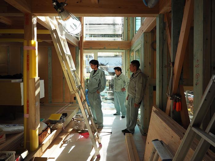 静岡県小山町 新築住宅工事 社内検査