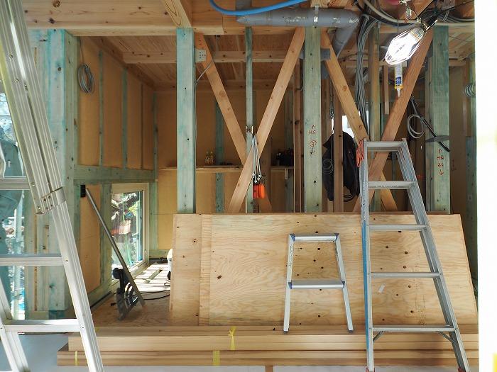 静岡県小山町 新築住宅工事 2m角の不思議空間