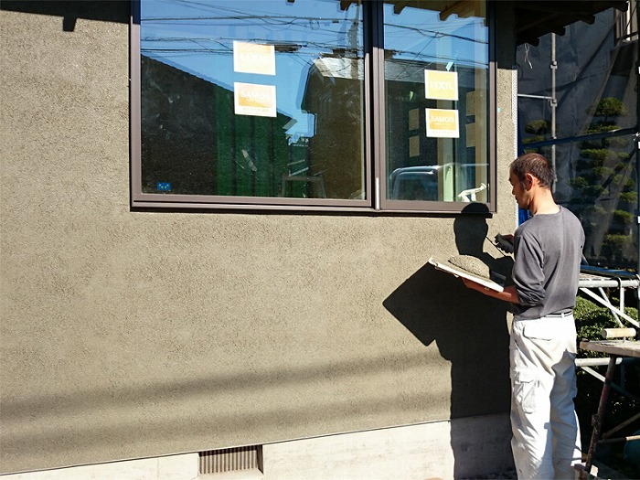 富士市のリノベーション 外壁塗装色決め