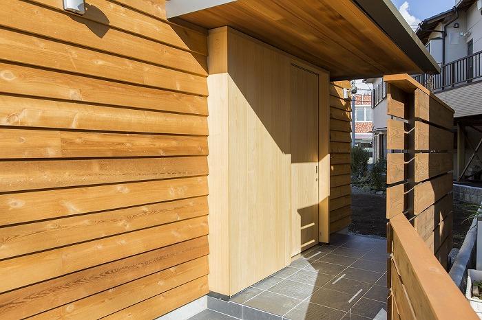 富士市 新築住宅 玄関引き戸