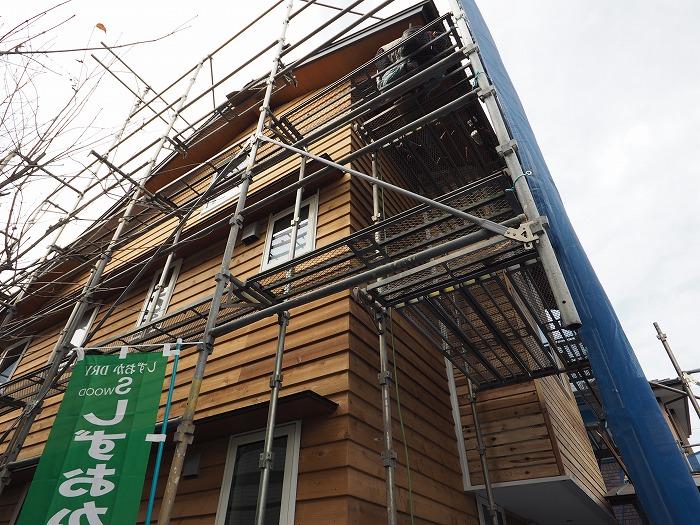 富士市 新築住宅 外壁木製サイディング