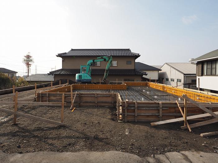 富士市 新築住宅 配筋完了