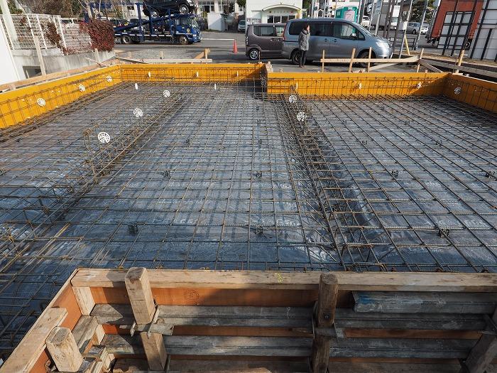富士市 新築住宅 基礎工事 耐震等級3