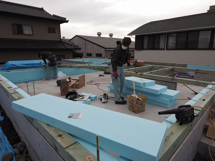 富士市 モデルハウス 基礎断熱工法