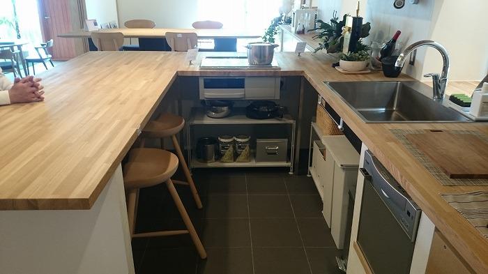 富士市 新築住宅 完成見学会 造作キッチン