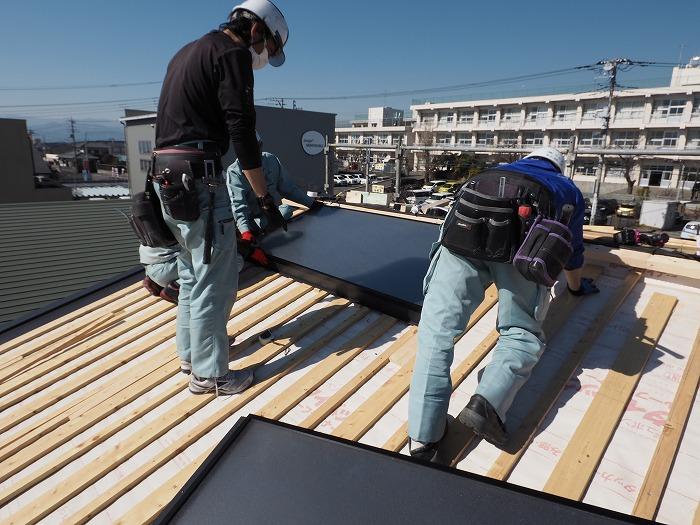 静岡県富士市 マクスのモデルハウス ふがくまちや パッシブソーラーシステム