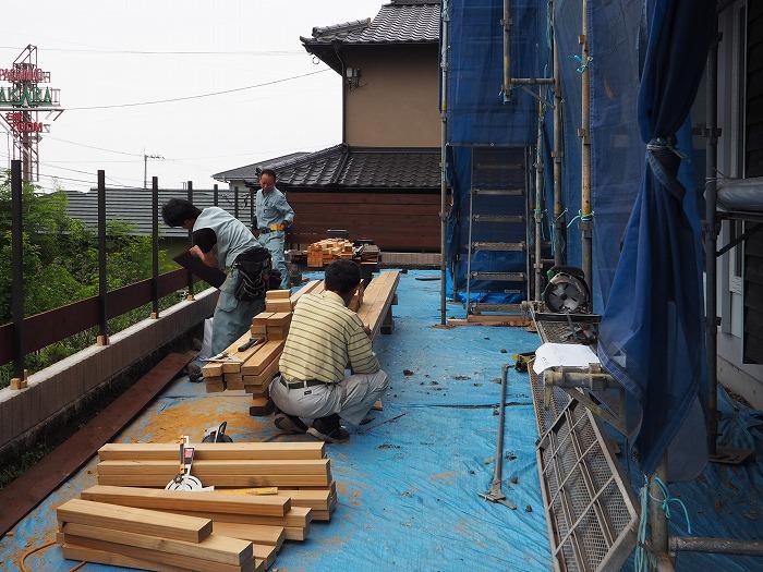 富士市 モデルハウス 外構フェンス工事