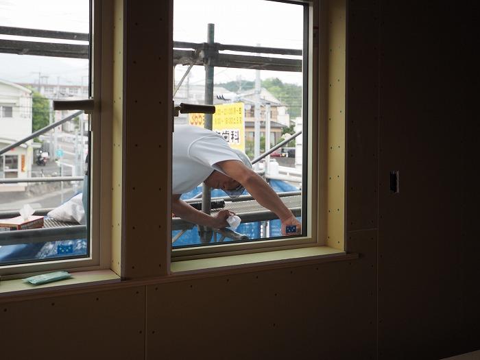 マクスモデルハウス ふがくまちや 工事風景