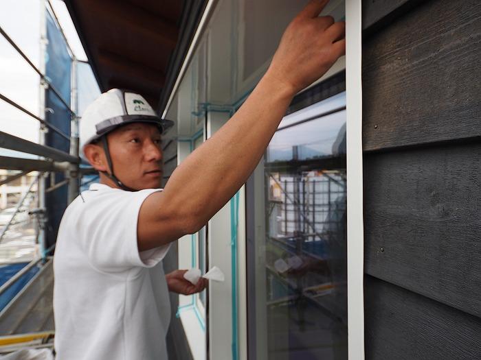 マクスモデルハウス 付加断熱の窓まわり