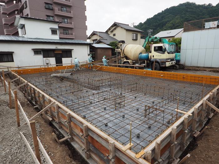 清水町 住宅新築工事 基礎工事