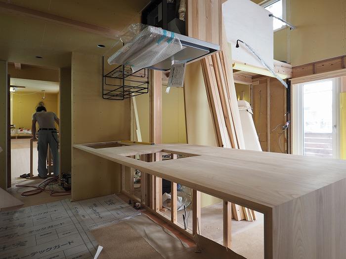 富士市 モデルハウス オーダーキッチン