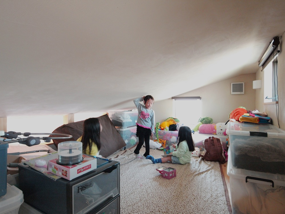 家族6人が住む間取りを考慮して作られた