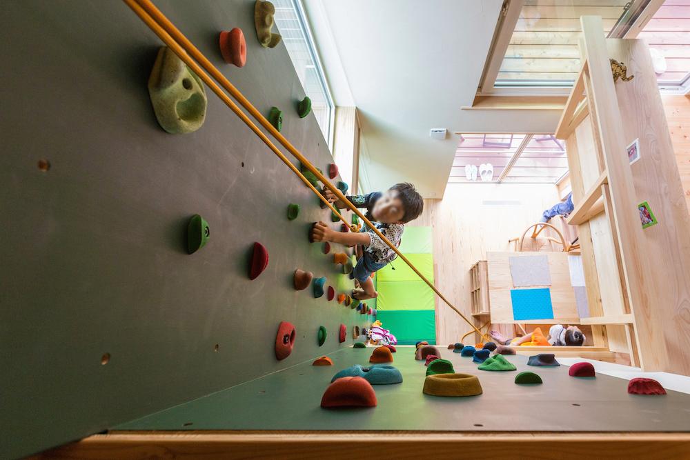 内装のスパイスにも、子どもの運動神経発達にも嬉しい