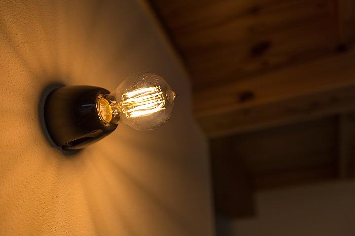 夜の見学会 スウェーデン製のランプ
