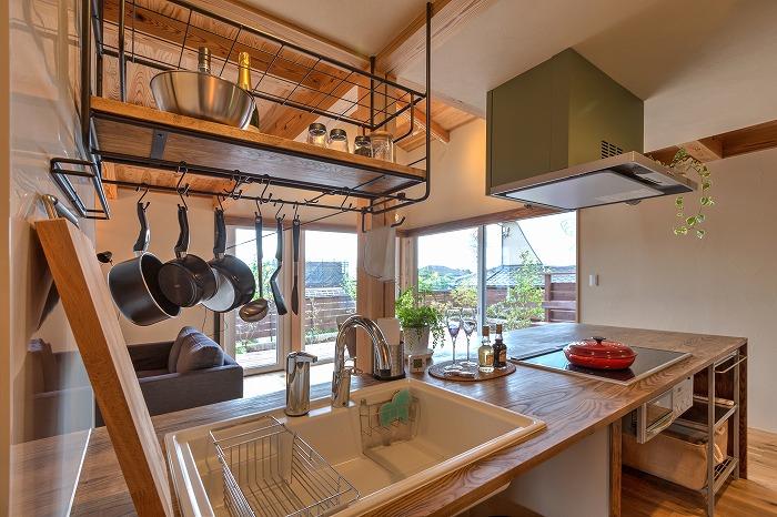 富士市 モデルハウスのキッチン