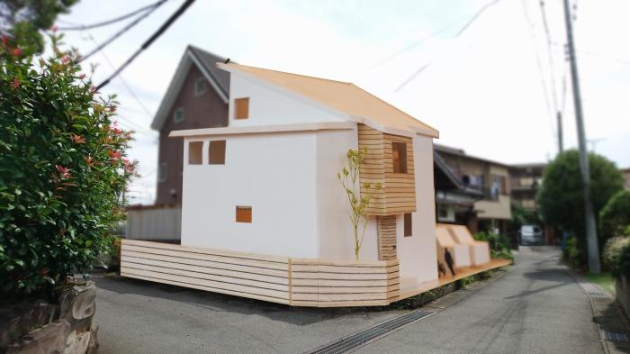 三島市 狭小住宅のコンセプト