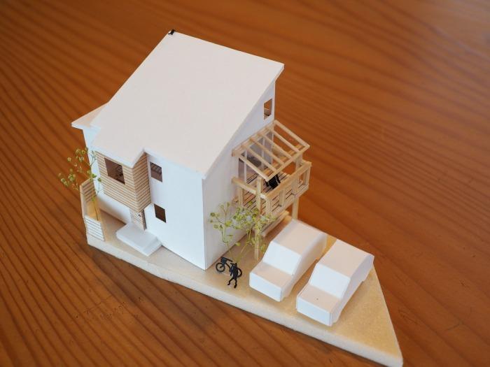 三島市 狭小住宅のプラン