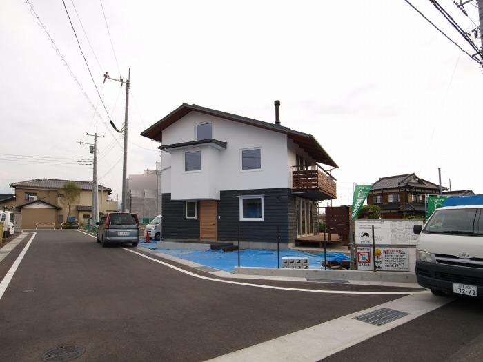 富士市 新築住宅工事現場