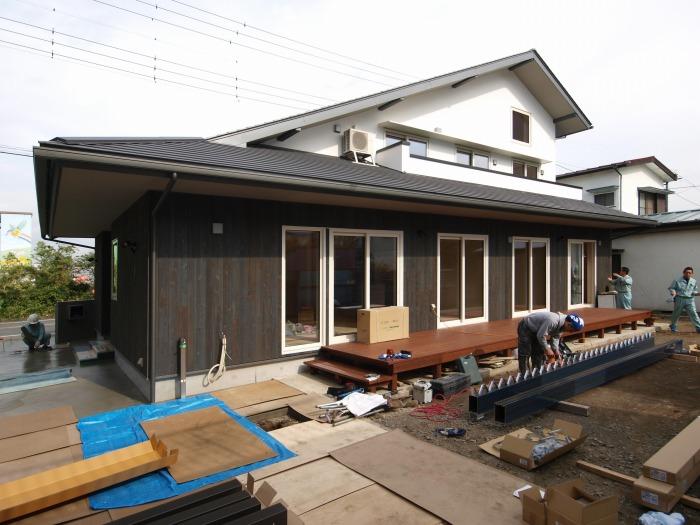 清水町 新築住宅 最終工事