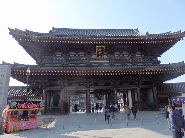川崎大師へ初詣