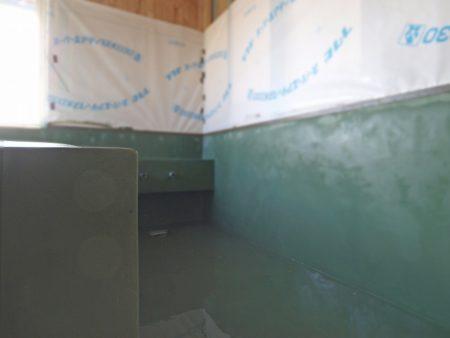 お風呂のモールテックス完成