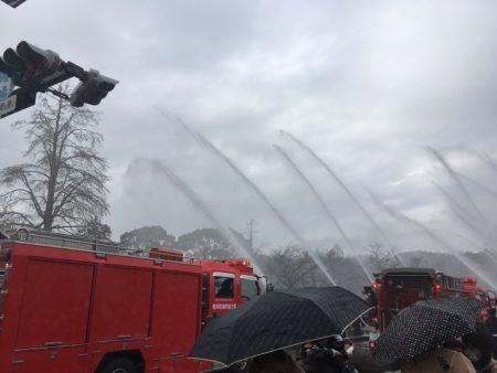 消防団出初式