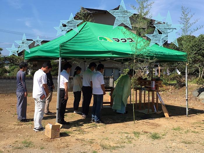 伊豆の国市で地鎮祭