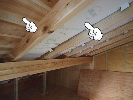 屋根の断熱は通気も考えて