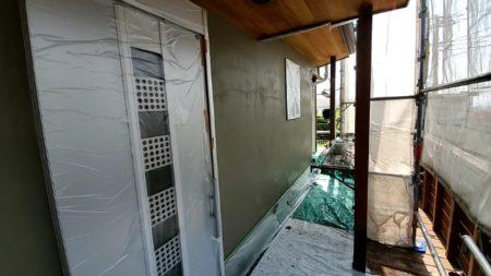 左官外壁改修工事