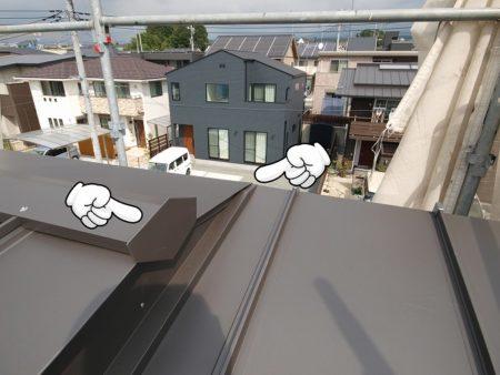 屋根工事は見えないけれど丁寧に仕上げる